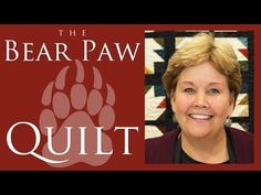 (32) The Bear Paw Quilt: Easy Quilting Tutorial with Jenny Doan of Missouri Star Quilt Co - YouTube