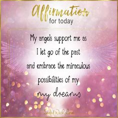 My angels support me when I speak Gods Word over my life Healing Affirmations, Positive Affirmations Quotes, Affirmation Quotes, Positive Quotes, Daily Mantra, Life Mantra, Angel Guidance, A Course In Miracles, Law Of Attraction Affirmations