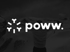 poww. logo by Richard de Ruijter