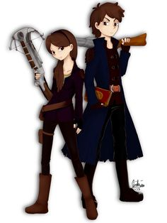 Dipper and Mabel Witch Hunters