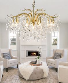 This Antique Brass Crystal Chandelier is inspired by an Asian willow tree with many branches and infusions. It expresses a feeling of freedom and the art of random. The Crystal chandelier lighting is composed by a large metal or copper frame and a number of high quality China K9 crystals. Antique Brass Chandelier, Branch Chandelier, Crystal Chandelier Lighting, E14 Led, Copper Frame, Willow Tree, Luster, Your Space, Branches