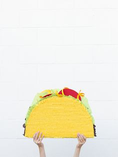 DIY Taco Piñata via Studio DIY