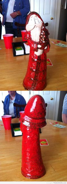 Post with 1409 votes and 5385 views. My Aunt couldn't understand why everyone was laughing at her ceramic Santa.