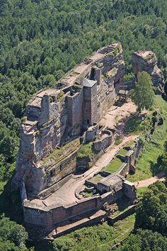 Château de Fleckenstein – Lembach, Bas-Rhin (France) – Crédit Photo : André Bour