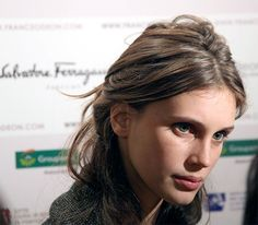 Marine Vacth Receives the Essence of Talent from Salvatore Ferragamo Parfums ~ Art Books Events