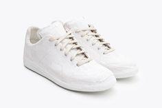 The Maison Margiela Replica Sneaker Gets Plastered