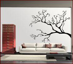 Wandtattoo Baum ohne Blätter