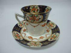 taza para té de porcelana inglesa