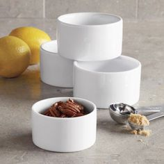 Sur La Table Straight-Sided Ramekin 59928/10 , 5 oz. , White ** More forbidden discounts at the link of image : Ramekins