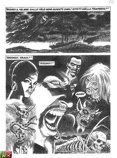 Página inédita realizada por Fabio Civitelli para a história do regresso de Yama