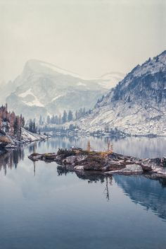 mountains, washington state, snow, lakes, beauty, travel, place, united states, photography