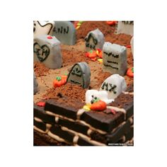 I Scream Sandwitches - Halloween Cupcakes, Cookies, and Treats -... ❤ liked on Polyvore featuring halloween, pictures, food and fall icons