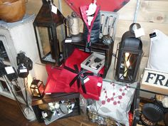 Fall merchandise at Louise's Cottage & Home