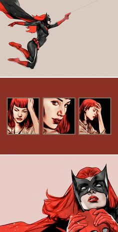 Kate Kane in preview of Detective Comics #948-49 (Batwoman Begins)   `