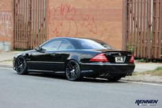 Mercedes-Benz CL65 AMG by Rennen Forged
