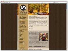 #Ontwerp #Nieuwsbrief Herfsteditie - Restaurant Smaak #emailmarketing #3AMI