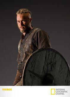 """Ragnar Lothbrok"". Vikings.  AKA my boyfriends doppleganger"
