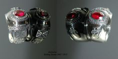 Silver Rolling Stones 50 years ring
