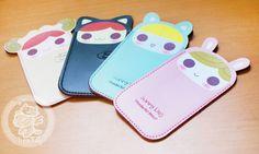 Pochette / housse KAWAII pour téléphone portable de chezfee.com !! <3 o(*v*)o  - www.chezfee.com