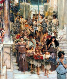 Victorian British Painting: Sir Lawrence Alma-Tadema, ctd