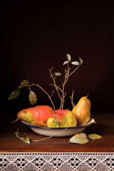Pears and sticks