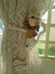 Picasa - Zecatelier's AlbumArchives - Bags, Dolls, Quilting, +More Sewing Toys, Sewing Crafts, Sewing Projects, Projects To Try, Cat Crafts, Arts And Crafts, Doll Toys, Dolls, Fabric Toys