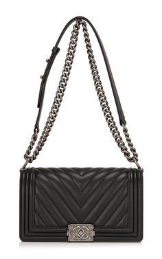 Chanel Black Chevron Medium Boy Bag by Hermes Vintage Chanel Le Boy, Chanel Black, Coco Chanel, Chanel Boy Bag Medium, Ysl, Sac Yves Saint Laurent, Hermes, Givenchy, Chanel Handbags