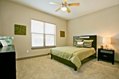 Large bedroom. More photos at www.Uptown101.com! #3636MckinneyApartments #UptownDallasApartments