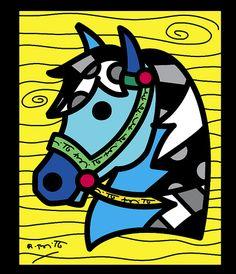 romero britto caballos - Buscar con Google