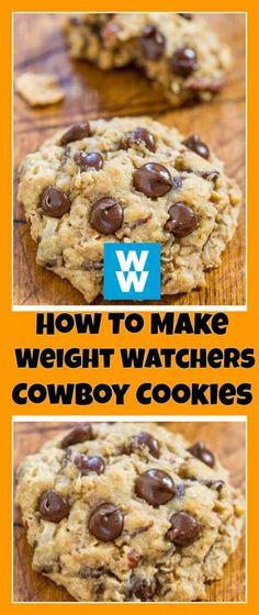 Weight Watchers Cowboy Cookies | weight watchers recipes