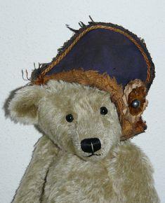 NAPOLEON HAT, Chapeau de Napoléon, Antique Style  for collectible teddies & doll #forteddyanddolljimdocom Napoleon Hat, Teddy Bear, Dolls, Antiques, Hats, Animals, Style, Baby Dolls, Antiquities