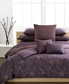 Calvin Klein Bedding, Elm Queen Duvet Cover Set - Duvet Covers - Bed & Bath - Macy's