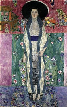 Gustav Klimt, Adele Bloch-Bauer II, 1912 on ArtStack #gustav-klimt #art