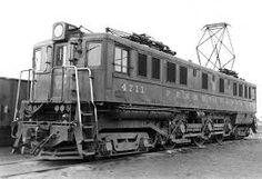 (Class  P5).  Pennsylvania R.R. #4711.   P5 Boxcab Electric Locomotive.  Built 1931-1935 by Baldwin-Westinghouse (54), GE (25), and PRR Juniata shops (13).  (AAR) 2-C-2, 3750 H.P..