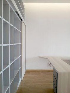 Built furniture_Book display shelves