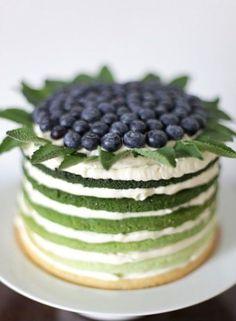 Pantone Cypress (via fancy edibles)