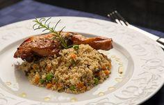 A melhor receita de frango com couscous: um segredo de chef!