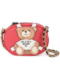 e90b8d721e4 MOSCHINO teddy-bear cross-body bag. #moschino #bags #leather #