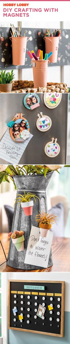 DIY Crafting with Magnets