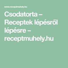 Csodatorta – Receptek lépésről lépésre – receptmuhely.hu