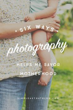 Have you noticed how much easier it is to find joy in your life when you're picking up a camera regularly? Here are 6 ways photography helps women savor motherhood and live more in the moment every day. Lifestyle Photography, Digital Photography, Family Photography, Amazing Photography, Flash Photography, Photoshop Photography, Beauty Photography, Creative Photography, Portrait Photography