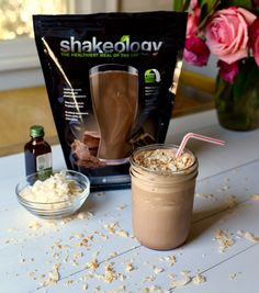 Chocolate Caramel Delight Smoothie (1 Red, 1/2 Yellow, 1 Orange)  // 21 Day Fix // fitness // fitspo // workout // motivation // exercise // Meal Prep // diet // nutrition // Inspiration // fitfood // fitfam // clean eating // recipe // recipes // Shakeology