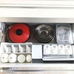 Kitchen/IKEA/雑貨/100均/ニトリ/シンプル...などのインテリア実例 - 2017-03-22 13:36:09 | RoomClip (ルームクリップ)