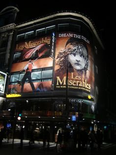 Watched Les Miserables in London