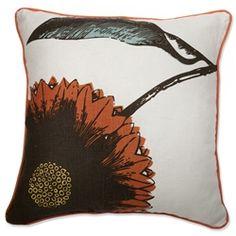Daisy Pillow - Reversible Design!