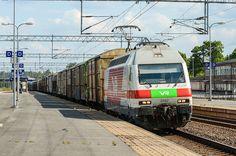 Finland - Freight train from Vuosaari passing Toijala on it's way to Tampere - ArtDvU