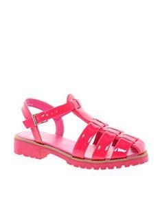 ASOS FIREFIGHTER Gladiator Sandals