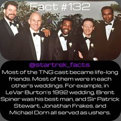 The actors becoming great friends happened for most of the shows. - The actors becoming great friends happened for most of the shows. Except for a few cases like Willi - Star Trek Quotes, Jonathan Frakes, Star Trek Characters, Starship Enterprise, Star Trek Ships, Star Trek Universe, Star Trek Voyager, Great Friends, Book Series