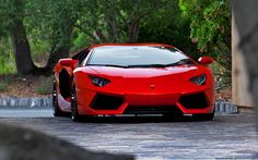 Lamborghini Aventador. Carbon fiber and aluminum super car. 0-60 in 3 sec.