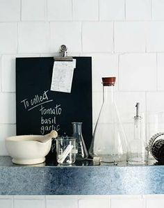 Science Lab Kitchens - this is so totally my vision! now to execute....